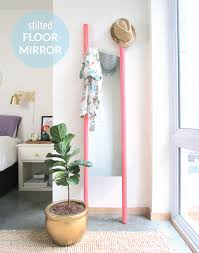 Hope you have a great start to the week! stilted floor mirror diy ...