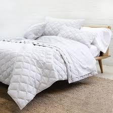 cotton coverlet set light grey