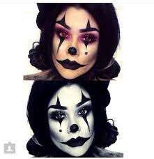 scary clown makeup ideas