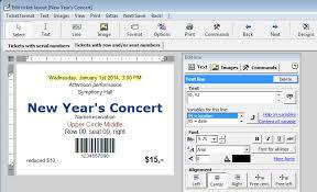Event Ticket Printing Software Ticketcreator Software Infocard Wiki