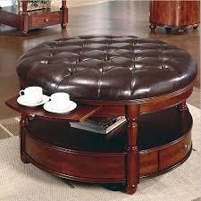 round rattan ottoman coffee table endearing round rattan coffee table ottoman new wicker outdoor