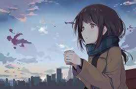 Aesthetic Anime Girl Computer Wallpaper