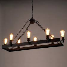 wrought iron chandelier rustic