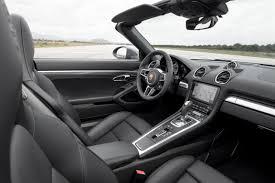2018 porsche boxster review. Fine Porsche 2018 Porsche 718 Boxster Interior Photos Inside Porsche Boxster Review