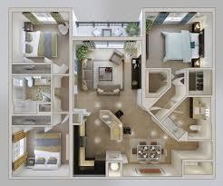 4 Bedroom Modern House Plans 3d 25 Well Designed 3d House Plan Design Ideas  Draft For