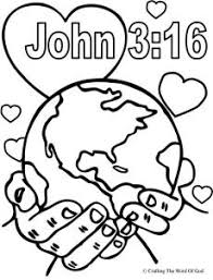 god so loved the world coloring page?w=230&h=300 gospel crafting the word of god on philip and the ethiopian eunuch coloring page