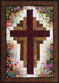 Best 25+ Cross quilt ideas on Pinterest | Quilt patterns, Baby ... & Radiant quilt pattern and fabric kit. At the Cross Quilt Kit WHIM-215 by Adamdwight.com
