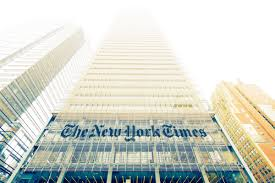 completed in 2007 the cur home of the new york times is a few blocks