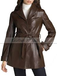 women brown leather coat jpg