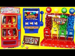 MM Vending Machine Magnificent MMs Vending Machine Real Working Gumball Slot Machine Toy