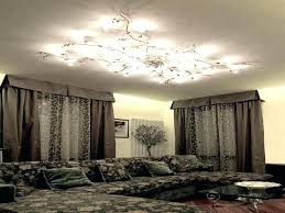 low ceiling lighting home and furniture sophisticated low ceiling chandelier of crystal flush for