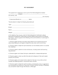 Lease Agreement Example Free Easy Lease Agreement To Print Free Printable Lease Agreement 11
