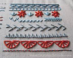 Image result for basic embroidery stitches
