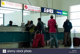 Car Desks Airport Car Rental Stock Photos Airport Car Rental Stock Images