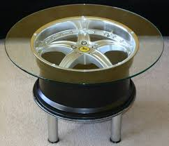 table recycled materials. DIY Unique Round Coffee Tables From Recycled Materials Table S