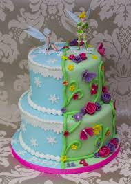 Tinkerbell Birthday Cake Tinkerbell And Periwinkle Cake Projects To