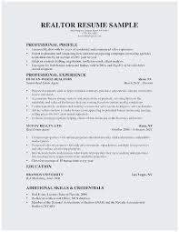 Property Agent Resume Sample Real Estate Resume No Experience Outstanding Realtor Resume