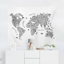 ideas collection world map hang on wall about world map tapestry world map wall art world map wall