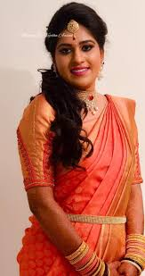 simple yet elegant our bride jayashree gets a makeover for her reception makeup and