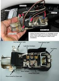 1957 chevy 3100 headlight switch help the 1947 present i ordered a new one from classic chevy and wired mine similar to the pic but i wired my running lights to stay on at the 2nd detent of switch