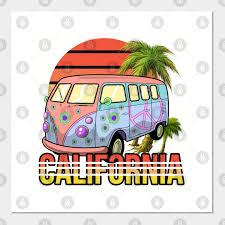 california hippie retro surf vintage