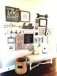 home decorating ideas best family wall decor on style diy improvement