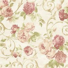 Flower Pattern Wallpaper Simple Sirpi Rose Flower Pattern Wallpaper Floral Glitter Motif Italian