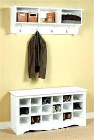Coat Rack And Shoe Storage Extraordinary Coat And Shoe Storage Shoe And Coat Rack Bench Coat Shoe Storage