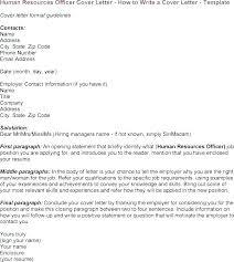 Cover Letter For Human Resource Assistant Human Resource Cover