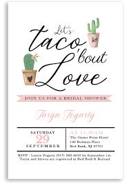 Couple Wedding Shower Invitations Taco Bridal Shower Invitation Taco Bout Love