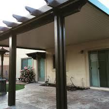 Brown aluminum patio covers Gabled Ultra Patios Solid Tone Alumawood Aluminum Patio Cover Henderson Nv Yelp Ultra Patios Las Vegas Patio Covers Bbq Islands Las Vegas Nv
