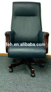 brown leather and wood desk chair office chair modern office furniture wooden leather executive office chair