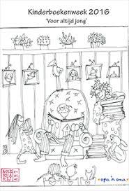 Winactie Kleurplaat Van De Kinderboekenweek 2016 Opa N Oma