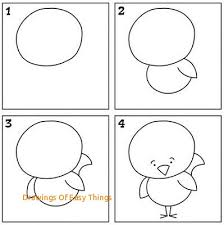 drawings of easy things kids can learn how to draw with i can draw