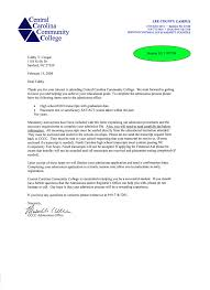 Sample College Letters - Resume And Cover Letter - Resume And Cover ...