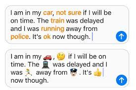 emoji text ios 10 emoji keyboard how to use quicktype send large emoji and