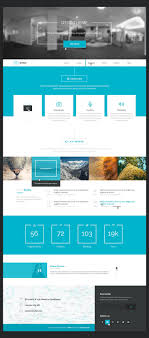 best ideas about website templates salon posted under bies tagged 404 page blog flat layout psd resource single page template web design