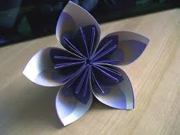 Paper Flower Origami Visual Instructions For Origami Paper Flowers Lovetoknow