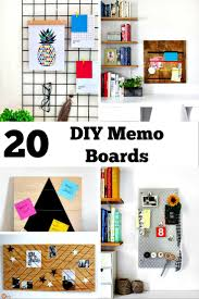 diy memo board ideas