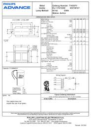 hid philips advance ballast wiring diagram great installation of hid philips advance ballast wiring diagram images gallery