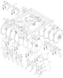 diagram of disc harrow diagram image wiring diagram land pride dh2596 disc harrow scrapers dh2596 assembly parts and on diagram of disc harrow