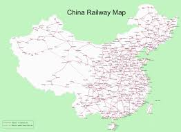 China Railway Maps 2019 Train Map Of High Speed Rail Pdf