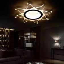 Us 9919 9 Offled Nordic Eisen Acryl Sonne Led Lampe Led Licht Deckenleuchten Led Deckenleuchte Deckenleuchte Für Foyer Schlafzimmer