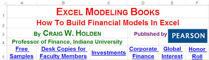 excel modeling excel modeling and estimation how to build and estimate financial