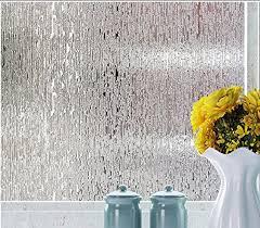<b>Rain</b> Water design opaque <b>privacy</b> protection <b>window film</b>; bathroom ...
