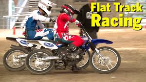 is flat track racing getting back on track la times