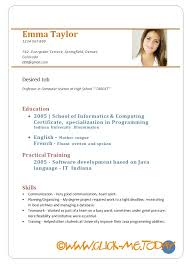 Resume Sample For Job Application Doc Resume Corner