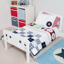big star multi coloured junior duvet set cot bed