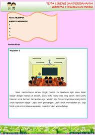 Soal kelas 3 tema 6 energi dan perubahannya beserta kunci jawaban. Tema 6 Subtema 2 Pb 5 Worksheet