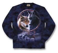 Dream Catcher Foundation Wolf Dreamcatcher LS Shirt Southwest Indian Foundation 49